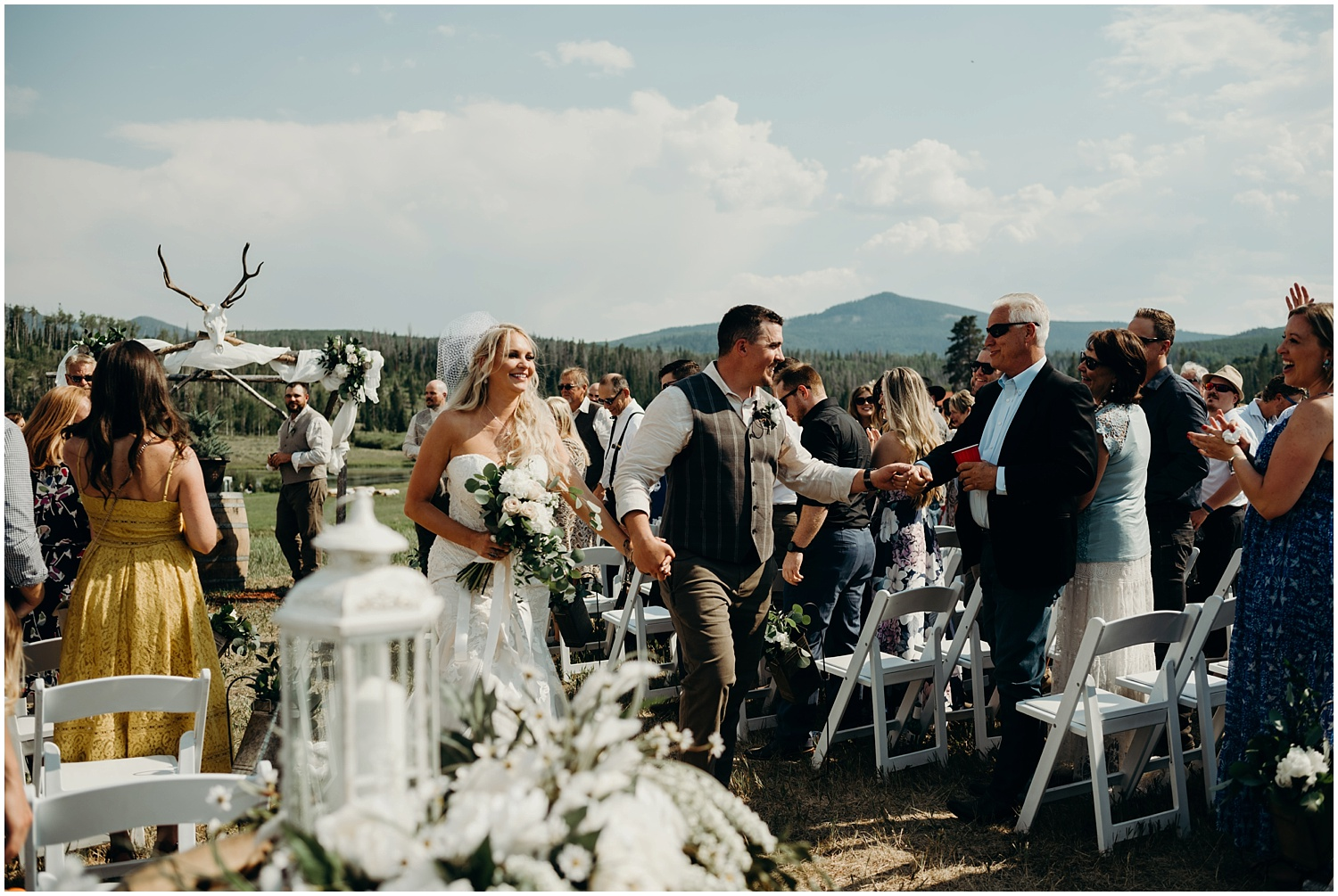 A ceremony and reception documented through photojournalism in Northern, Colorado.