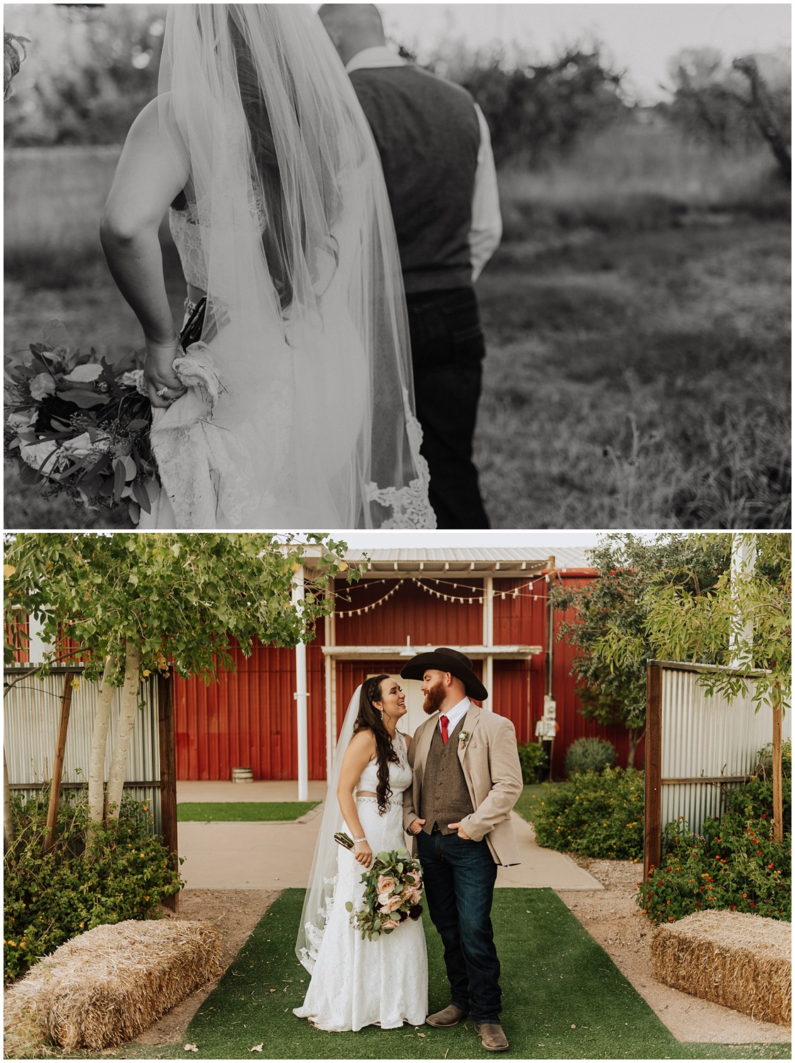 Photojournalism style wedding documented at Schnepf Farms in Queen Creek, Arizona.