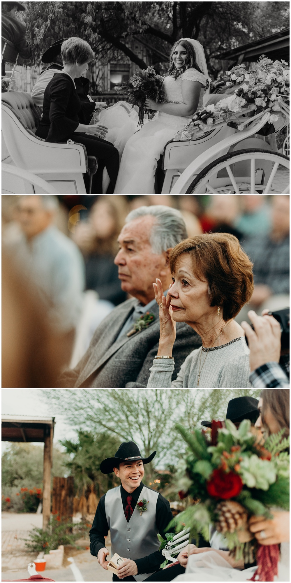 Genuine and authentic moments documented for a Christmas Country Wedding at the Windmill Winery.