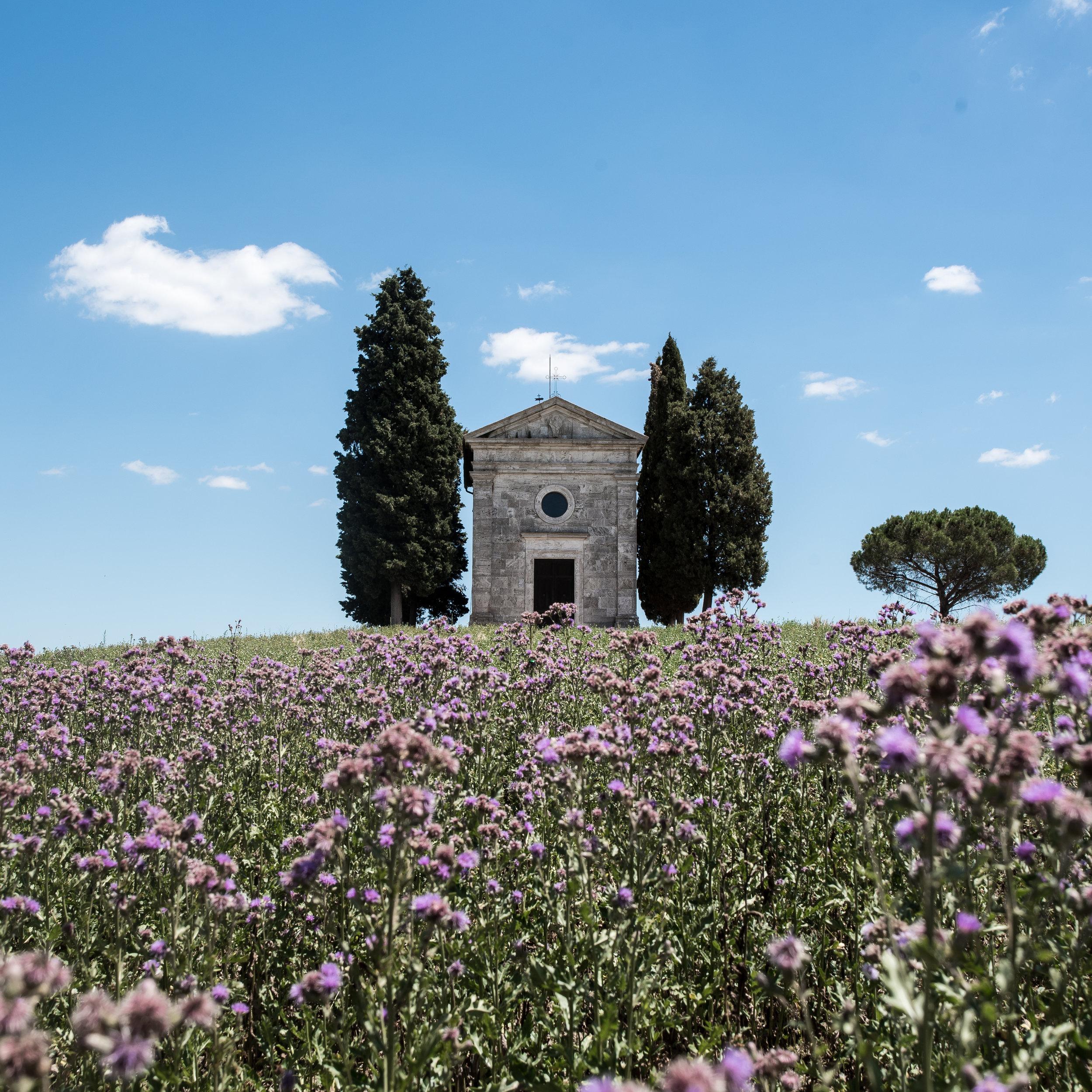 Capella della Madonna di Vitaleta, Tuscany