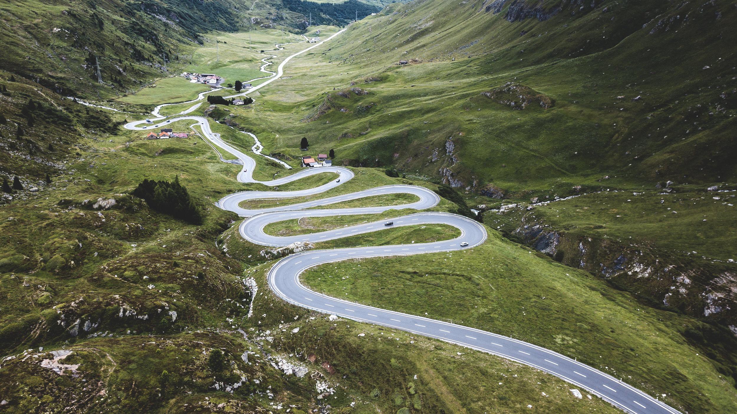 Julier Pass, Switzerland