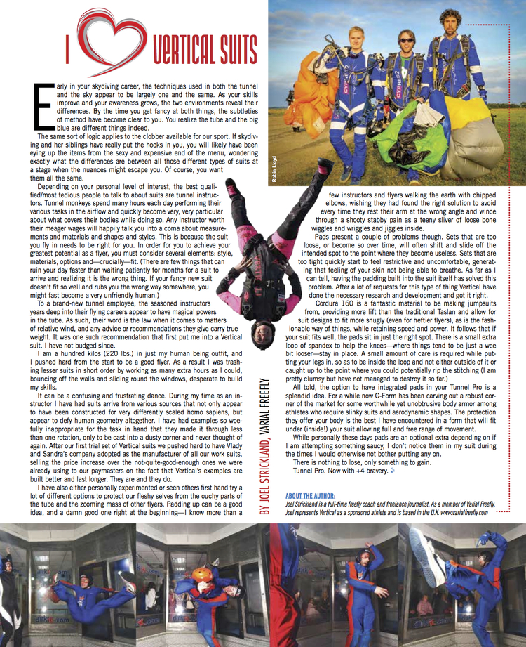 Vertical Suits x G-Form   Blue Skies Magazine  February 2015