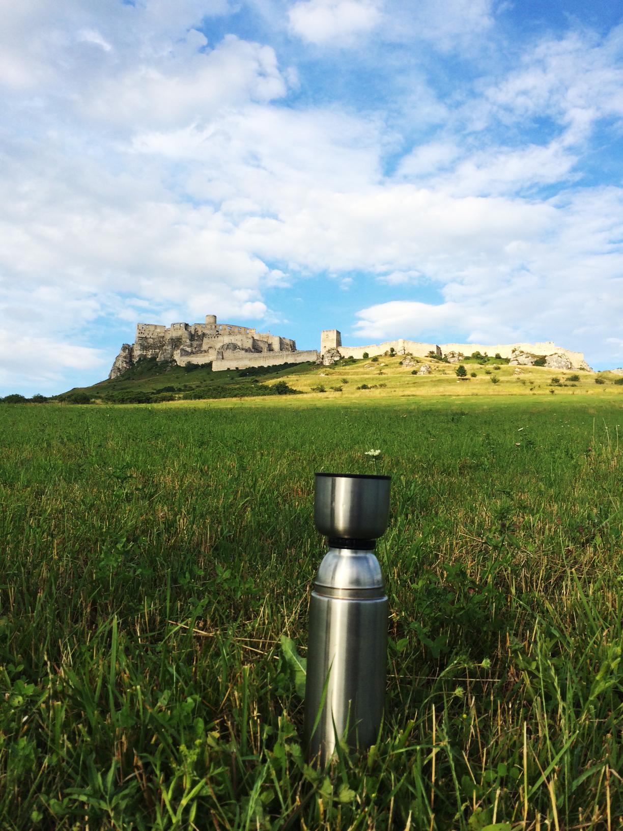Spiš Castle plus tea.