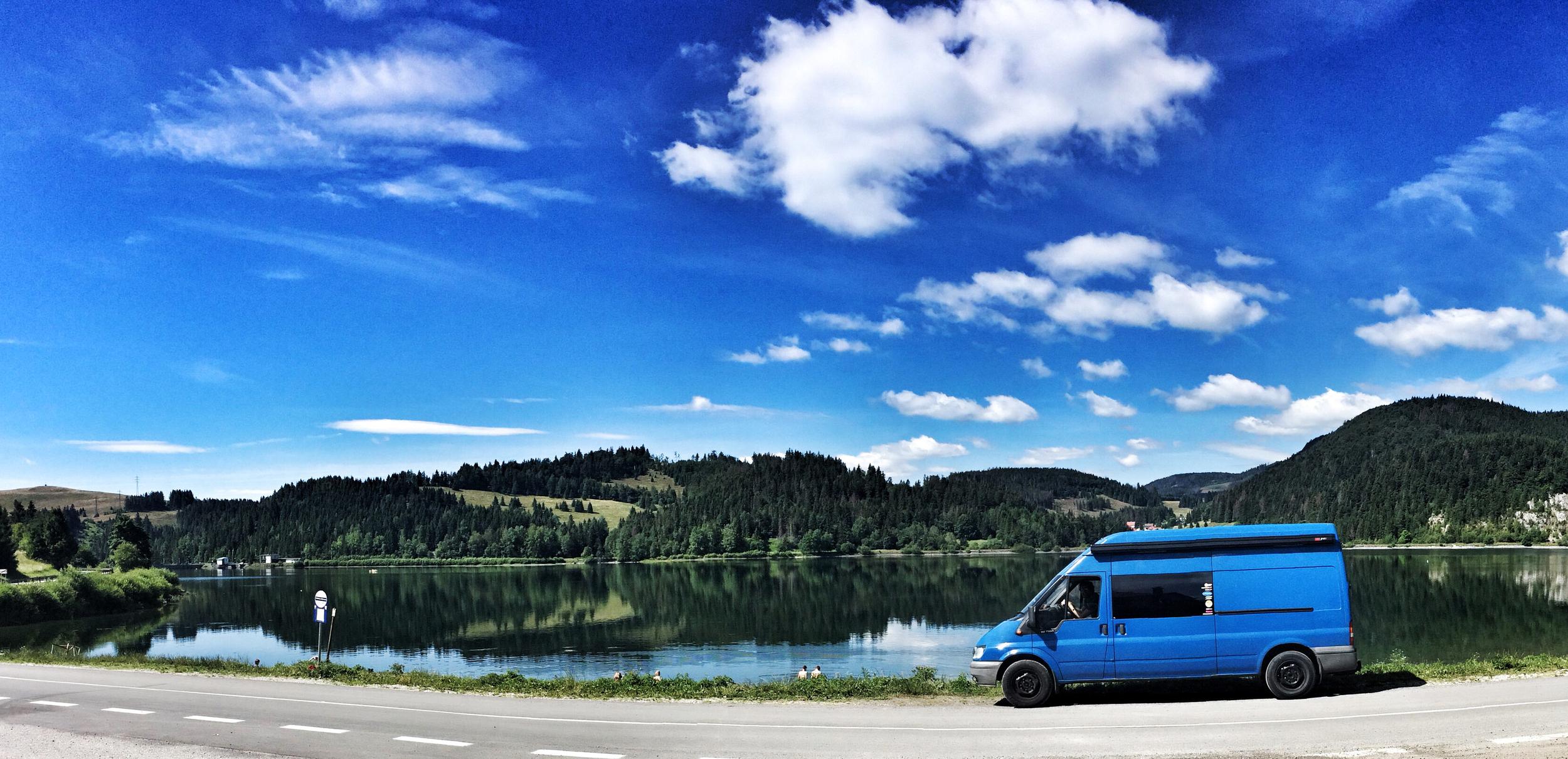 Dedinky Lake.