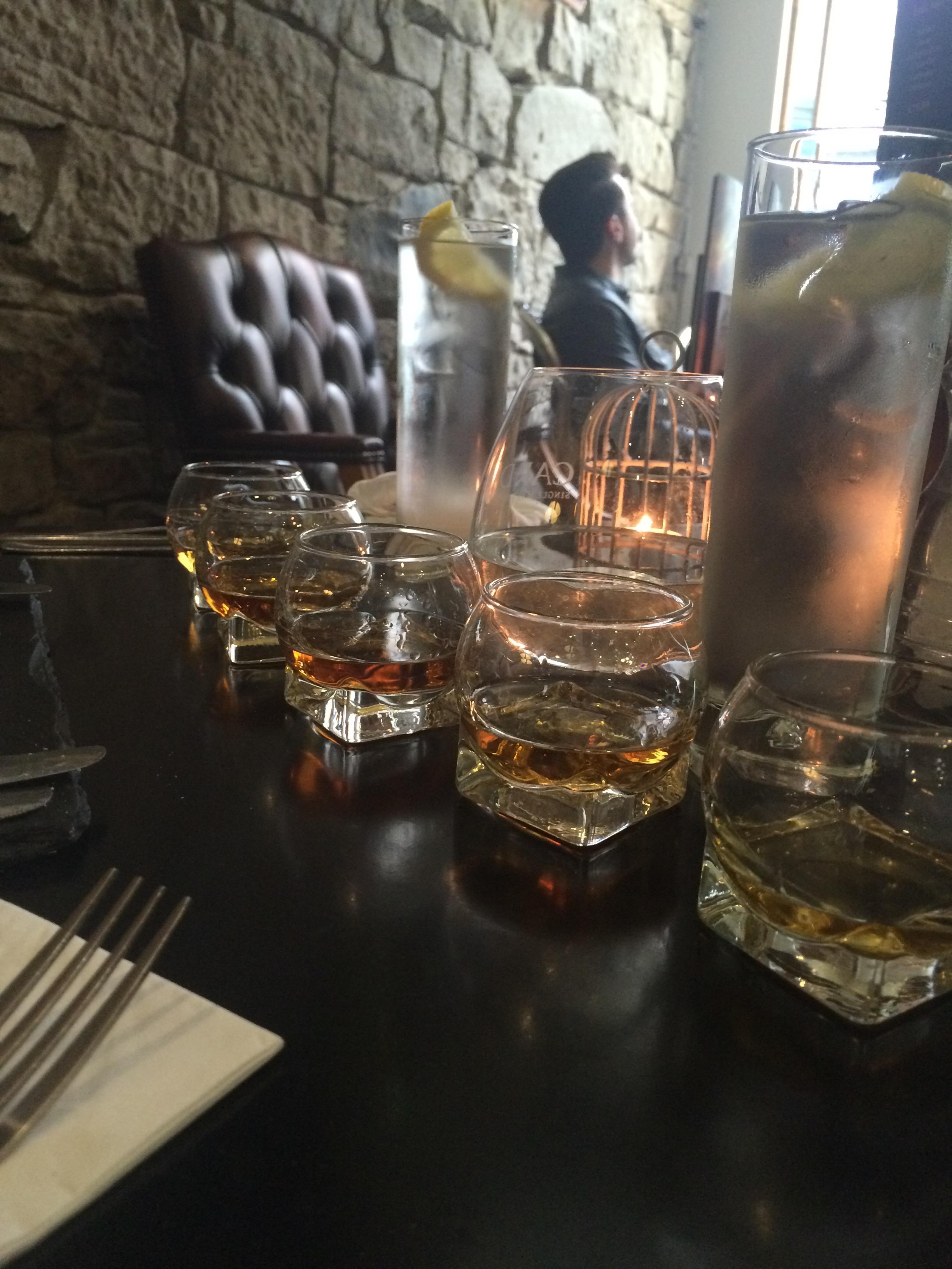Edinburgh. Special mention for posh whisky.