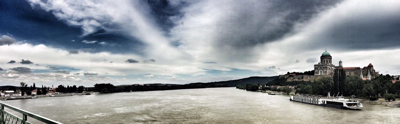 The big brown Danube.