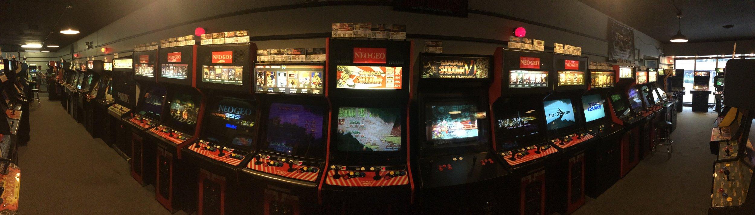 Neo-Geo section.