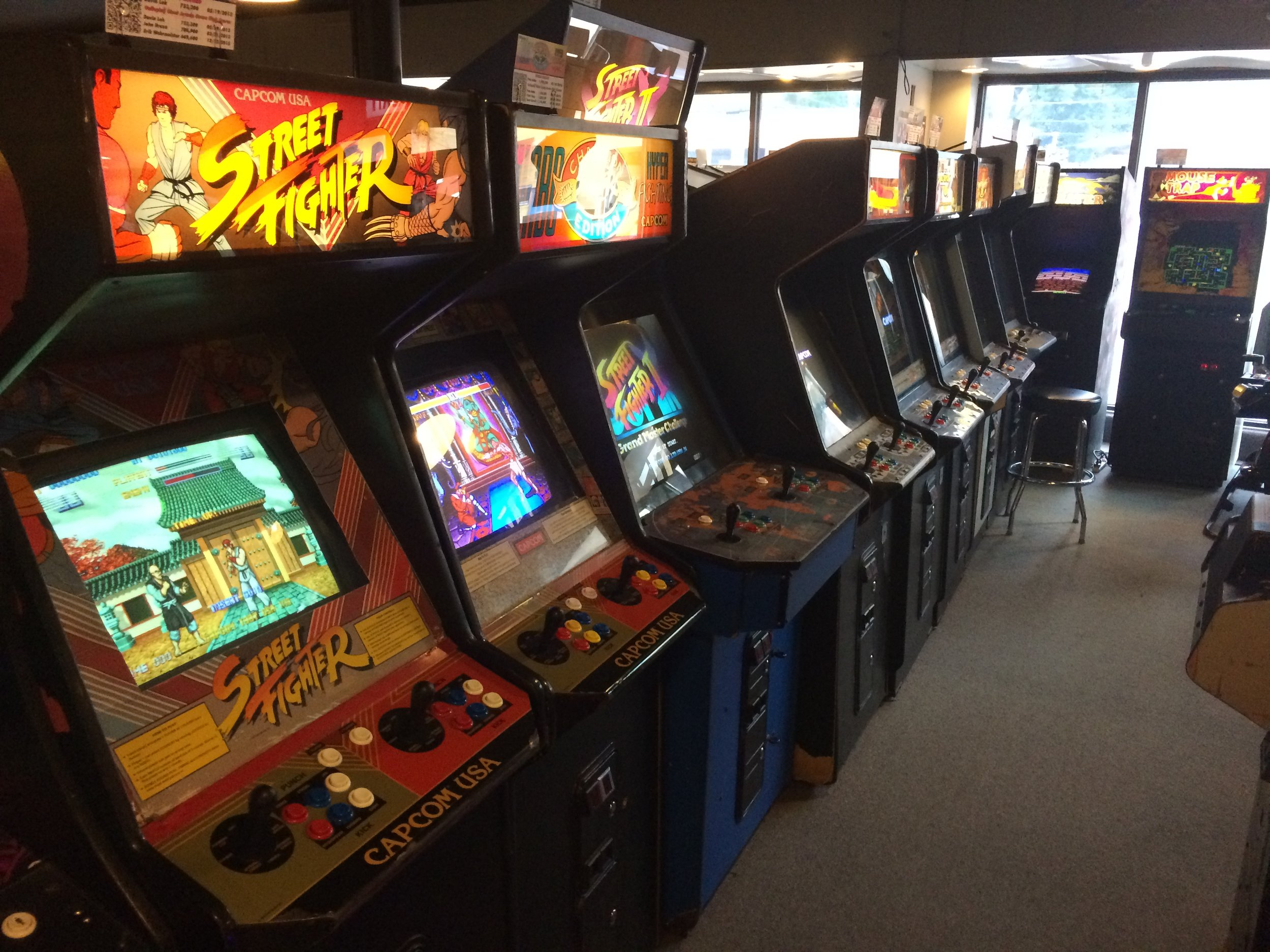 Street Fighter line. Including the very first.