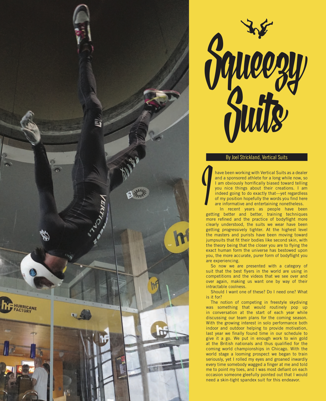 Squeezy Suits   Blue Skies Magazine  August 2016
