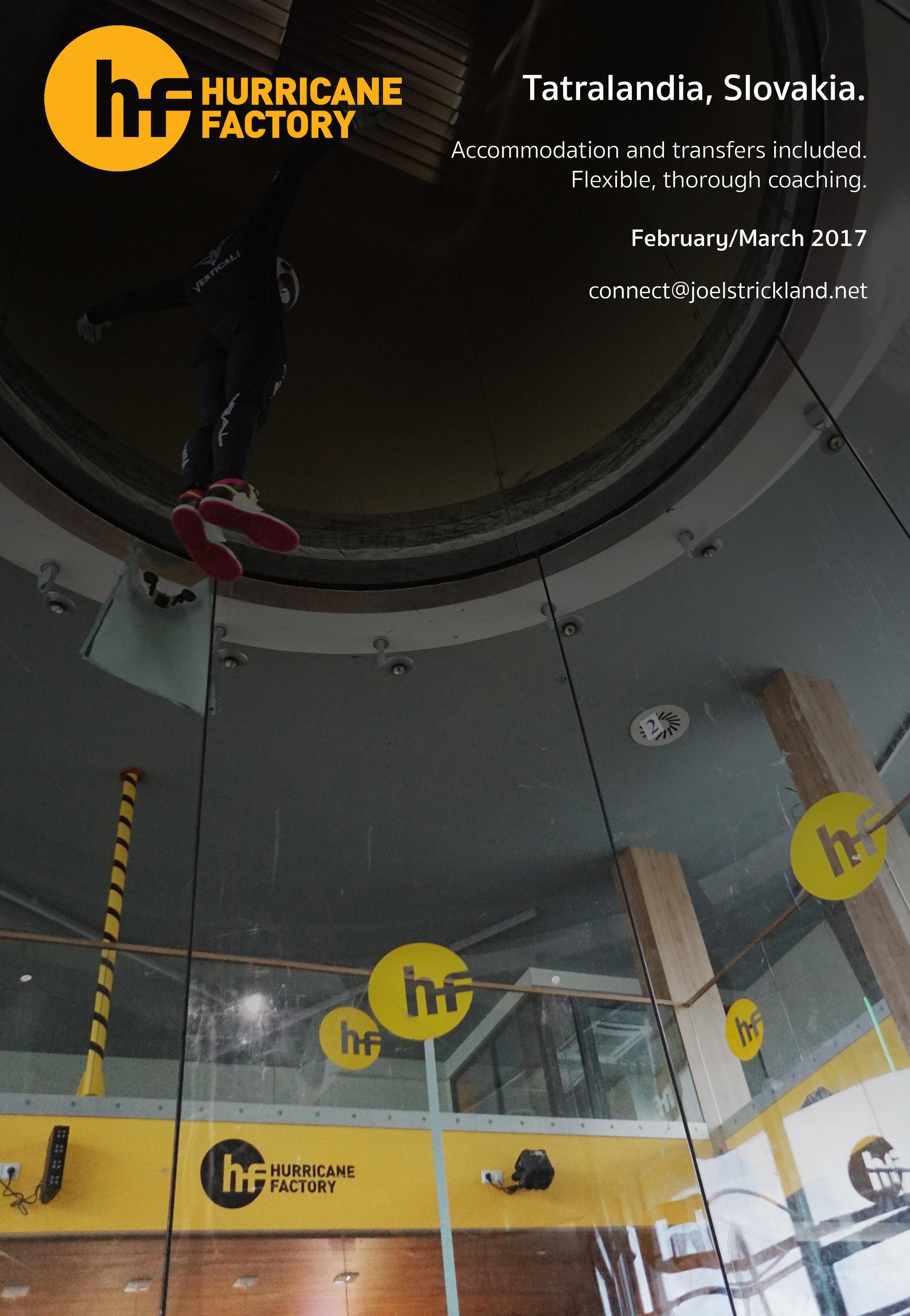 tunnel coaching hurricane factory slovakia