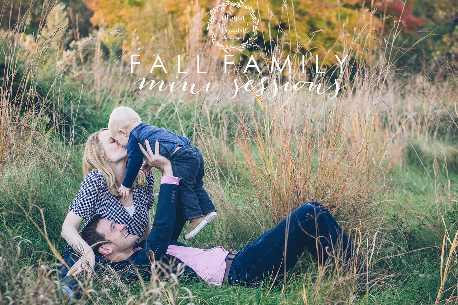 fall outdoor family mini-sessions