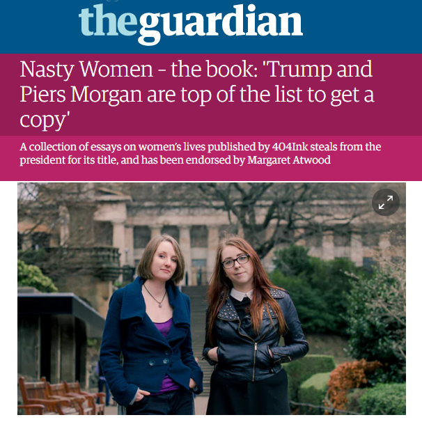 Nasty Women  x The Guardian