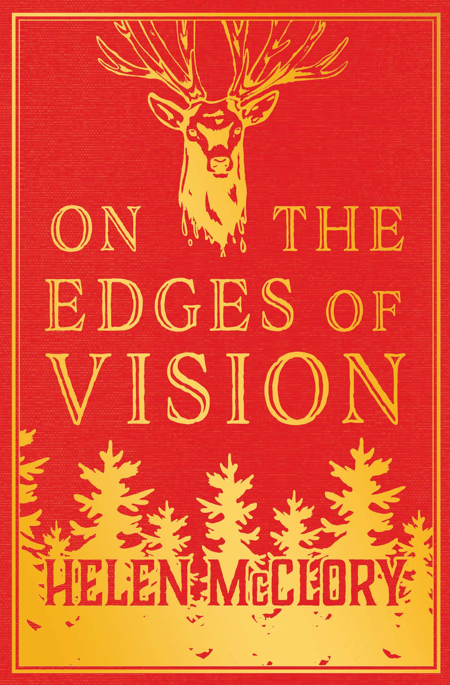 ON THE EDGES OF VISION   'Angela Carter for the millennial generation' - Meena Kandasamy   In On the Edges of Vision, unease sounds itself in the language of legend. Images call on memory, on the monstrous self. In Helen McClory's award-winning, daring debut collection, the skin prickles against sweeps of light or darkness, the fantastic or the frightful; deep water, dark woods, or scattered flesh in desert sand.  Whether telling of a boy cyclops or a pretty dead girl, drowned sailors or the devil himself, each story draws the reader towards not bleakness but a tale half-told, a truth half-true: that the monster is human, and only wants to reach out and take you by the hand.