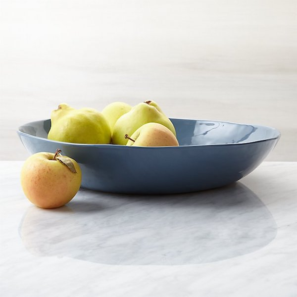 Mercer Denim Serving Bowl (Crate & Barrel)