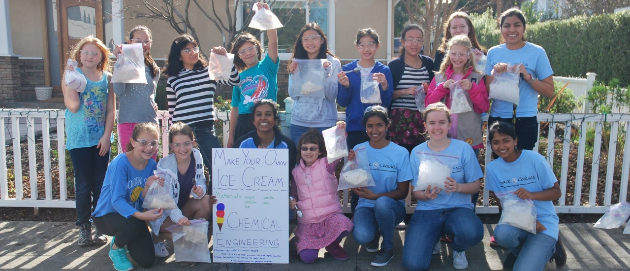 What a nice day for delicious ice cream made with chemical engineering!
