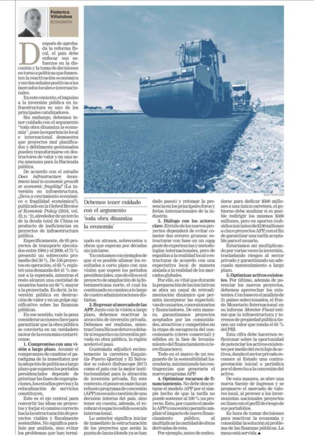 Infraestructura FVillalobos
