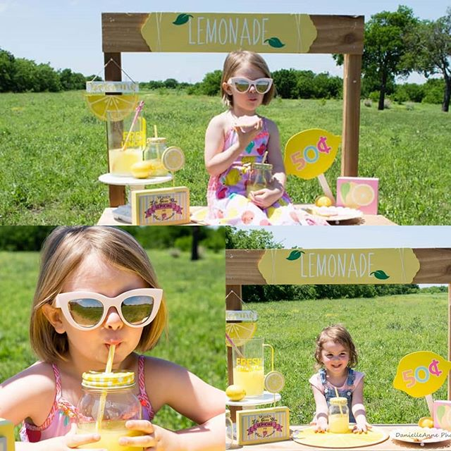 Ok I'm planning on setting up the lemonade stand for the weekend of the 20th!!! These will be 15-20 minute sessions for $80!! You will get all pictures edited and available for download!! I have the big stand for my bigger kids and the baby stand for my sweet littles!!! I'm so excited to finally get these going lol!!!