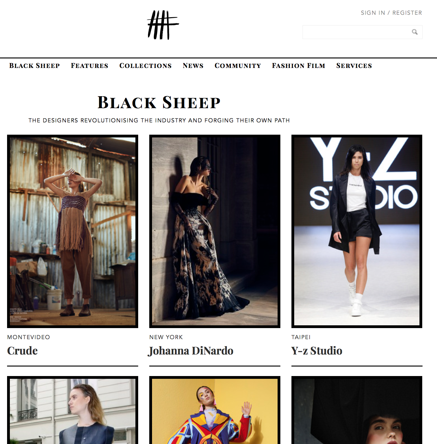 Not Just a Label | Black Sheep