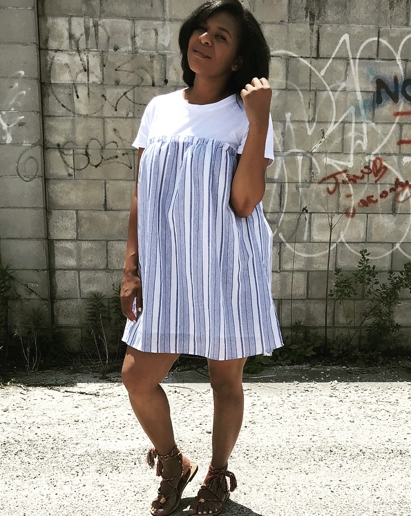 Dress:  VICI  Shoes:  Sam Edelman