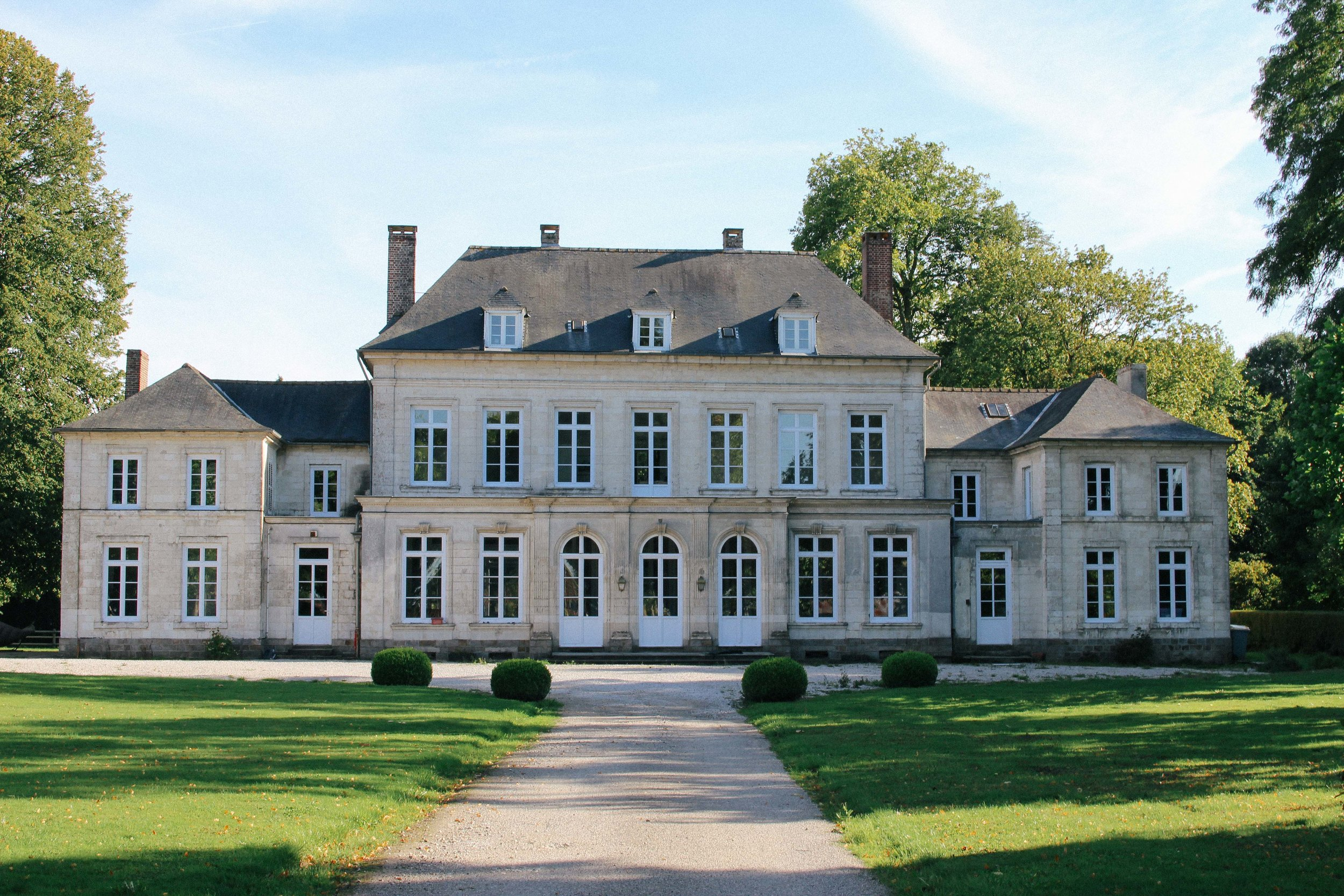 One of the châteaux I fell for...