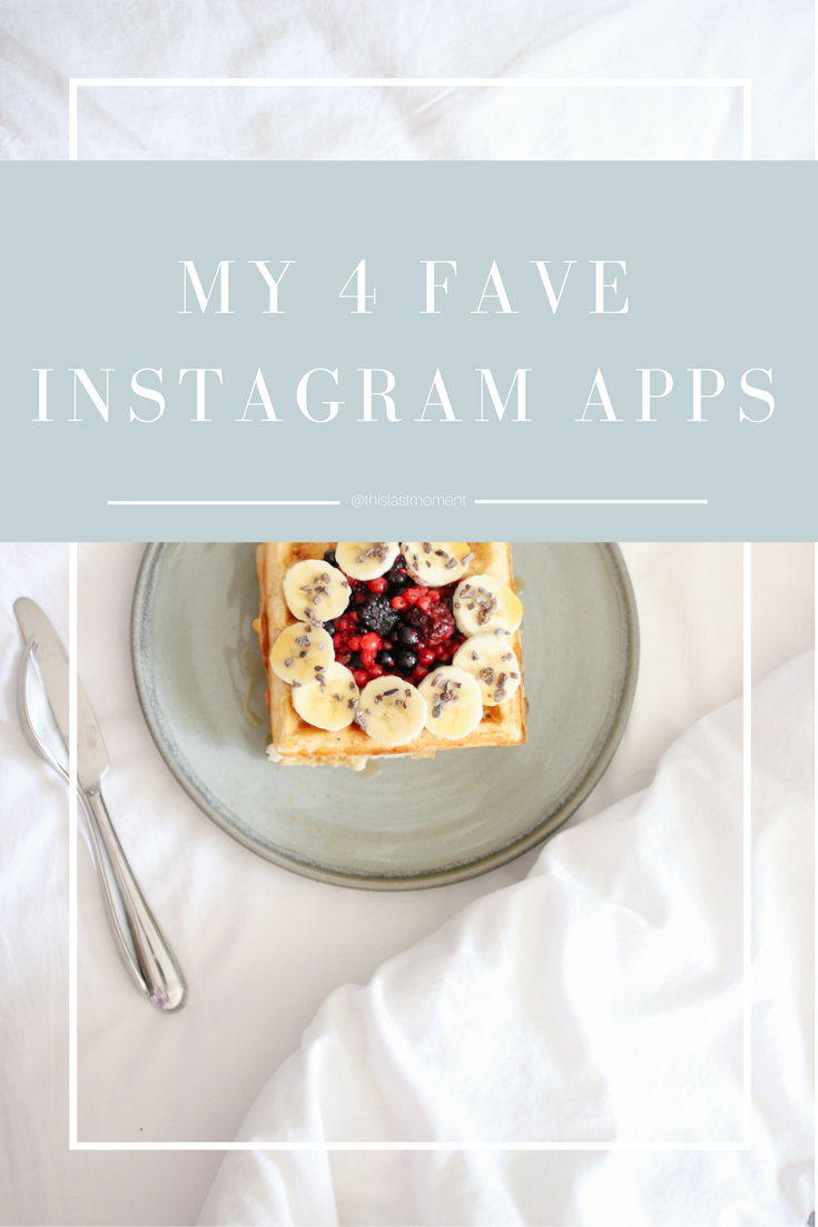 4 Apps To Improve Your Insta-Game