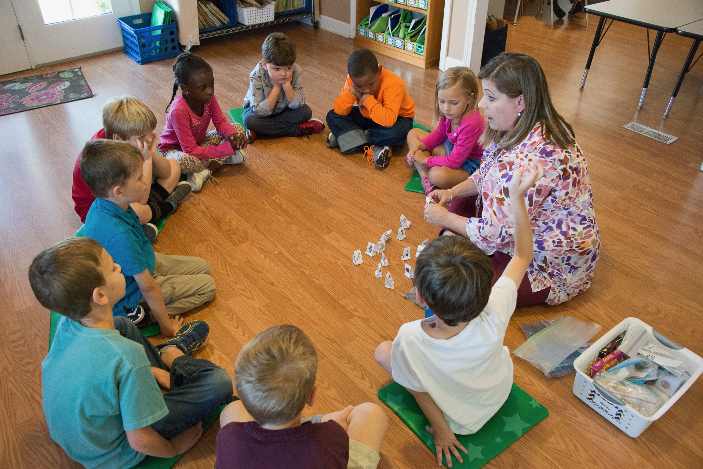Hope Academy - K5-1st - group in circle with Christine.jpg