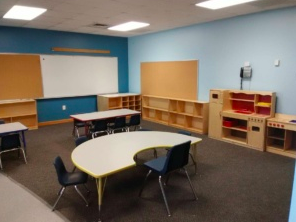 Project HOPE Foundation's new Landrum property includes three buildings with classrooms, a cafeteria, and a gymnasium. Photo provided.