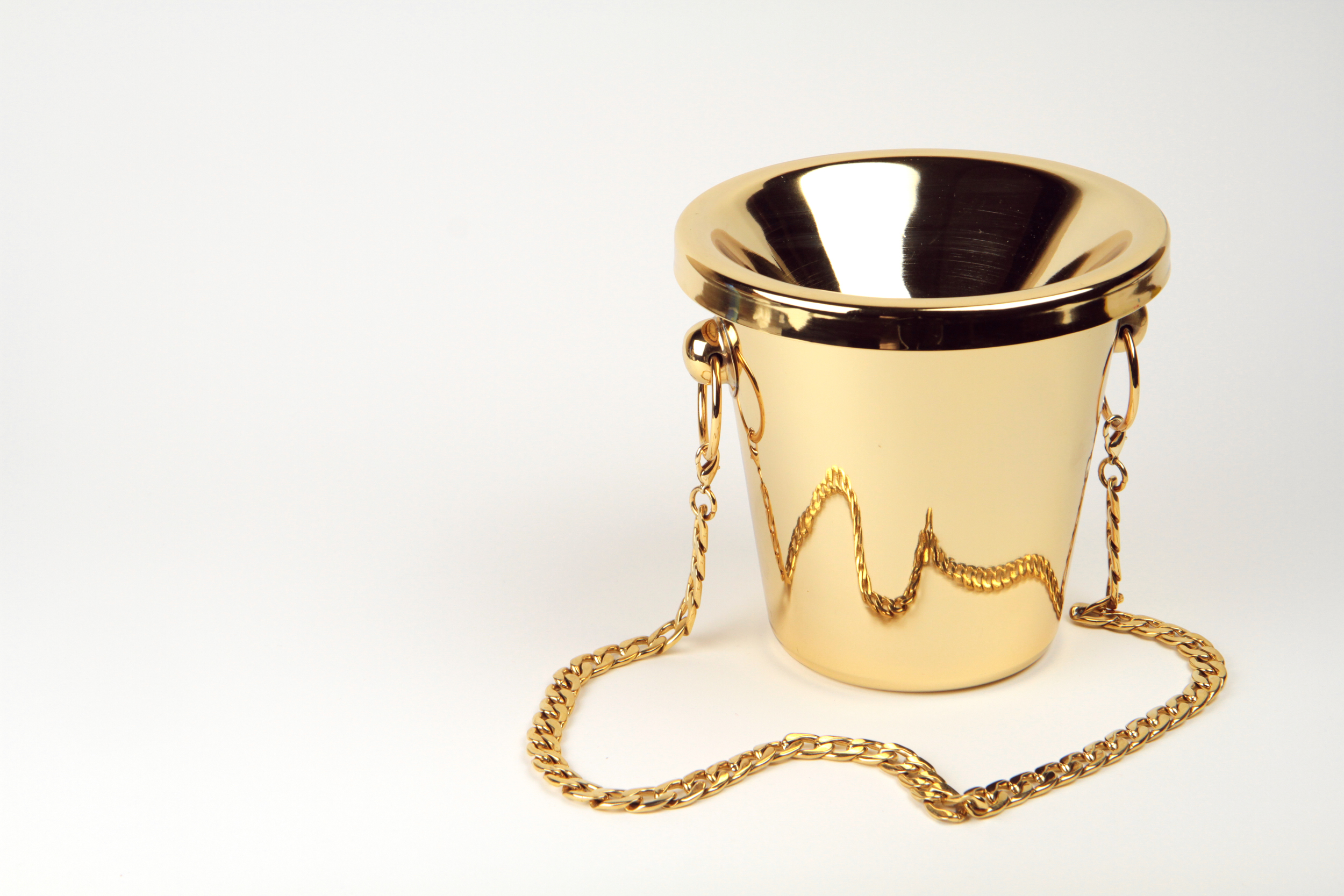 The Crachevin  2014 24K Gold, stainless steel 6 x 6 x 6 inches Edition of 3 and 2 AP