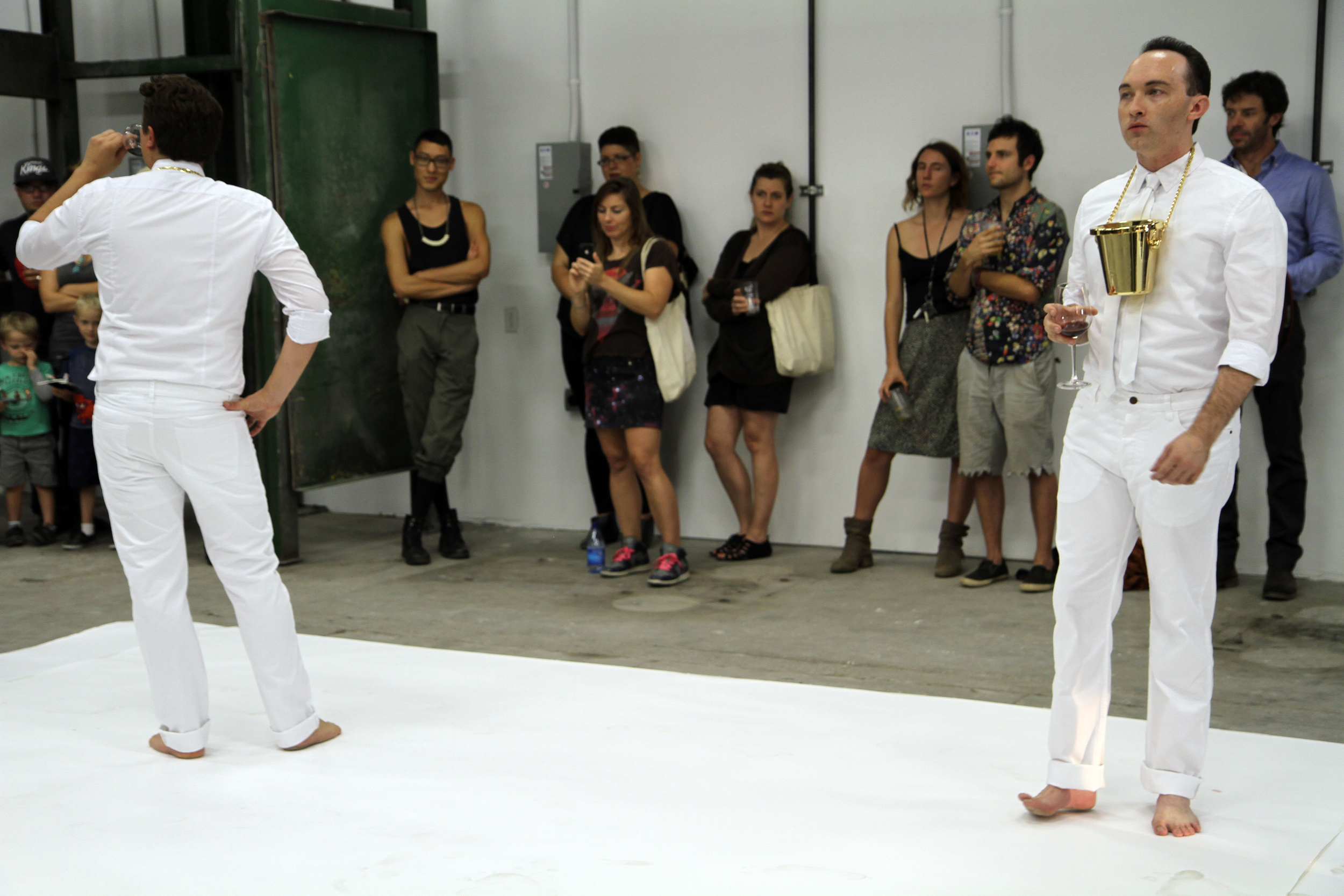 Crachevin  2014 Live performance Dimensions variable 12:00 minutes Video and Photography Courtesy of Tyler Calkin