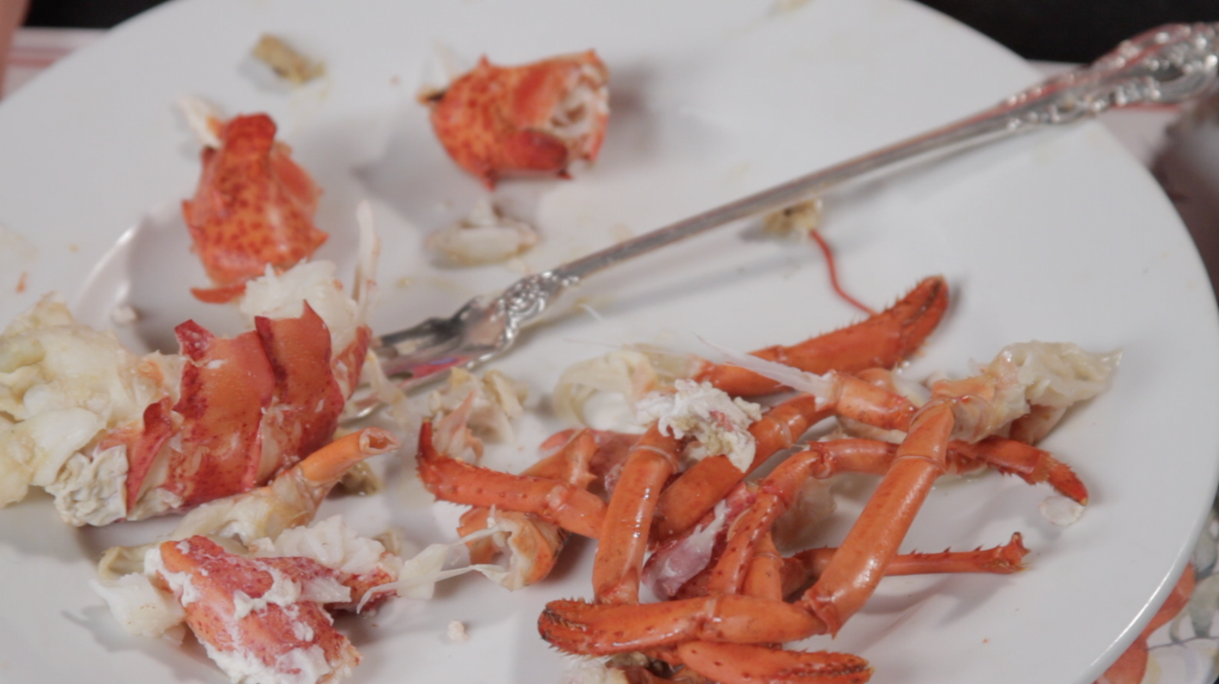 How to Eat Lobster  2011 (production still) HD video, duration 10 minutes Photo and video courtesy of Sean Flaherty