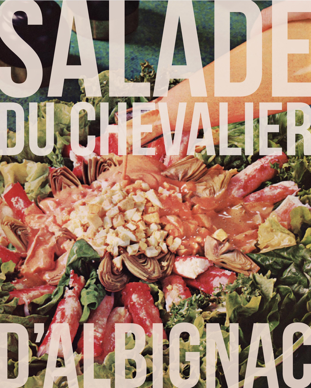 Fashionable Salad-Maker Kit (for Chevalier d'Albignac)  2015 Promotional Poster