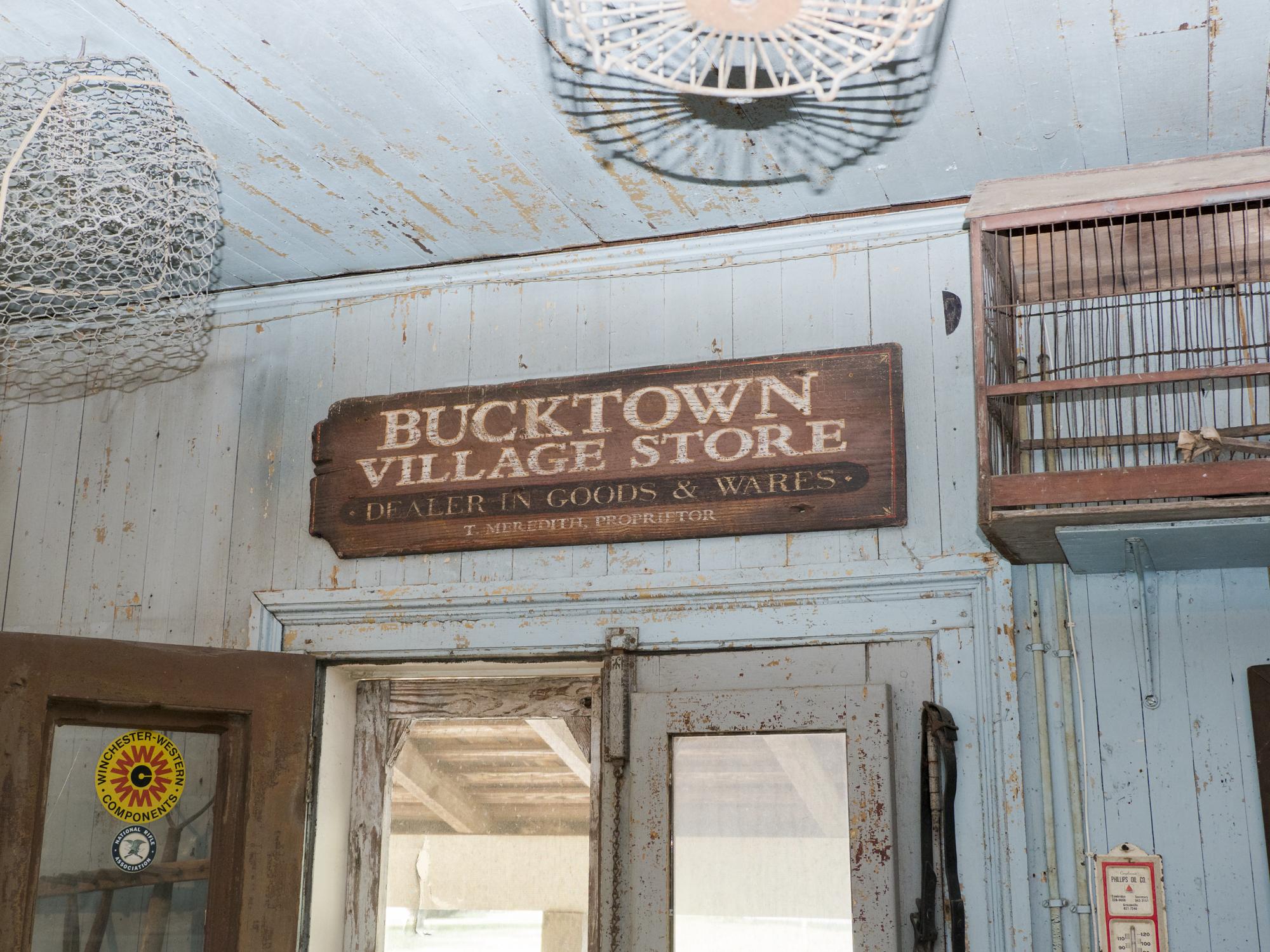 Interior, Bucktown Store