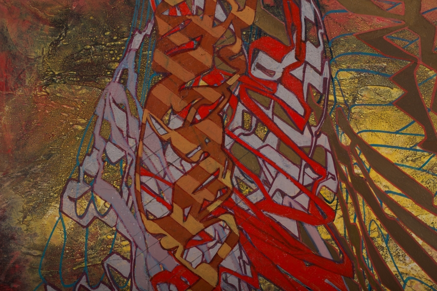 Research painting detail, acrylic on canvas, 16' x 12', 2011.jpg