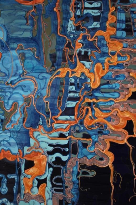 'Planck's Mechanical Gut-G.U.T.', 5'x4' (more detail), acrylic on canvas, 2011.JPG