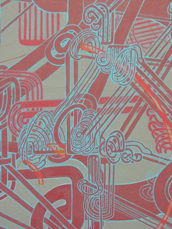'The Phoenix and the Machine' (detail), acrylic on canvas, 5' x 4'.jpg