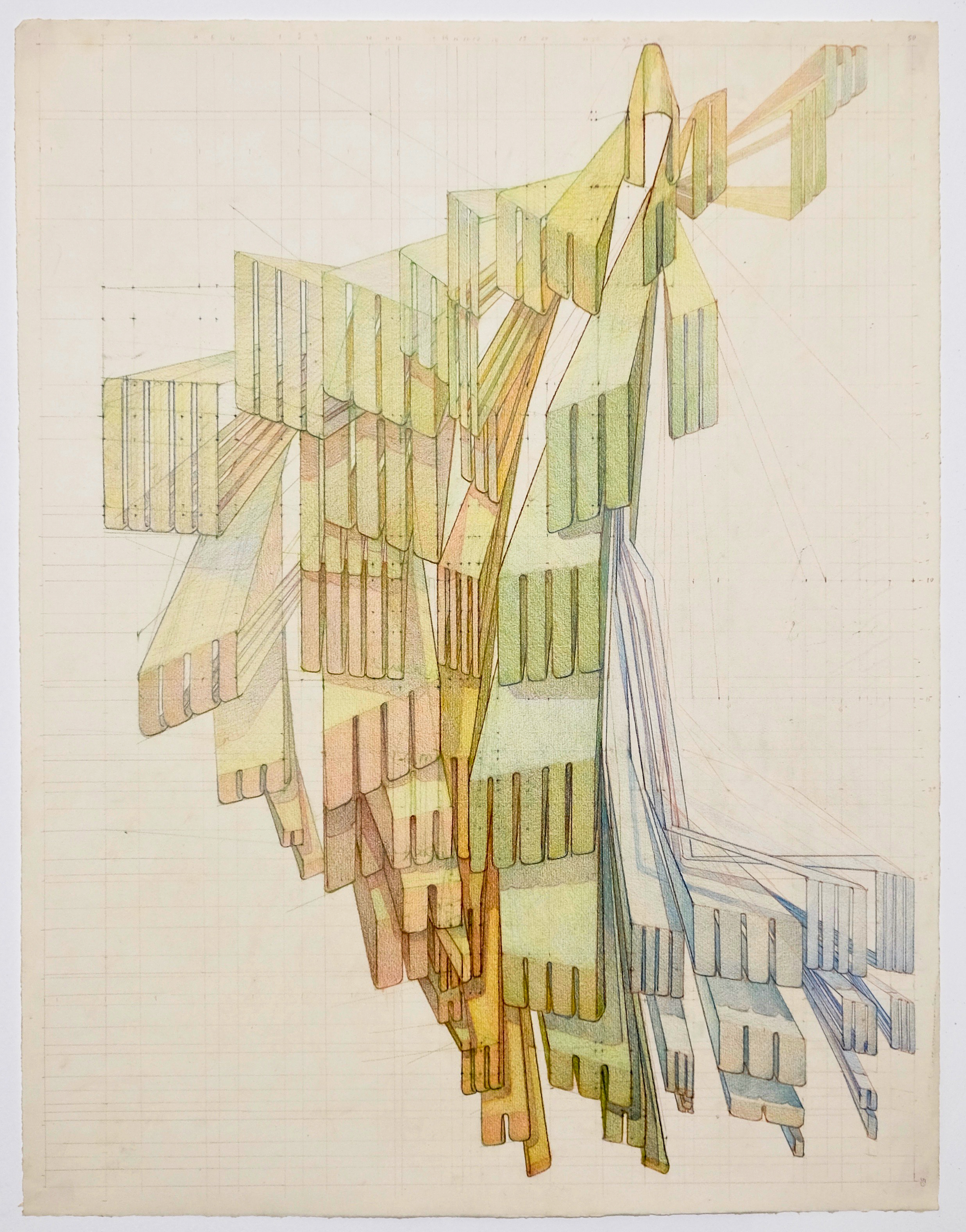 'Research Drawing 2', colored pencil on paper, 2018-2.jpg