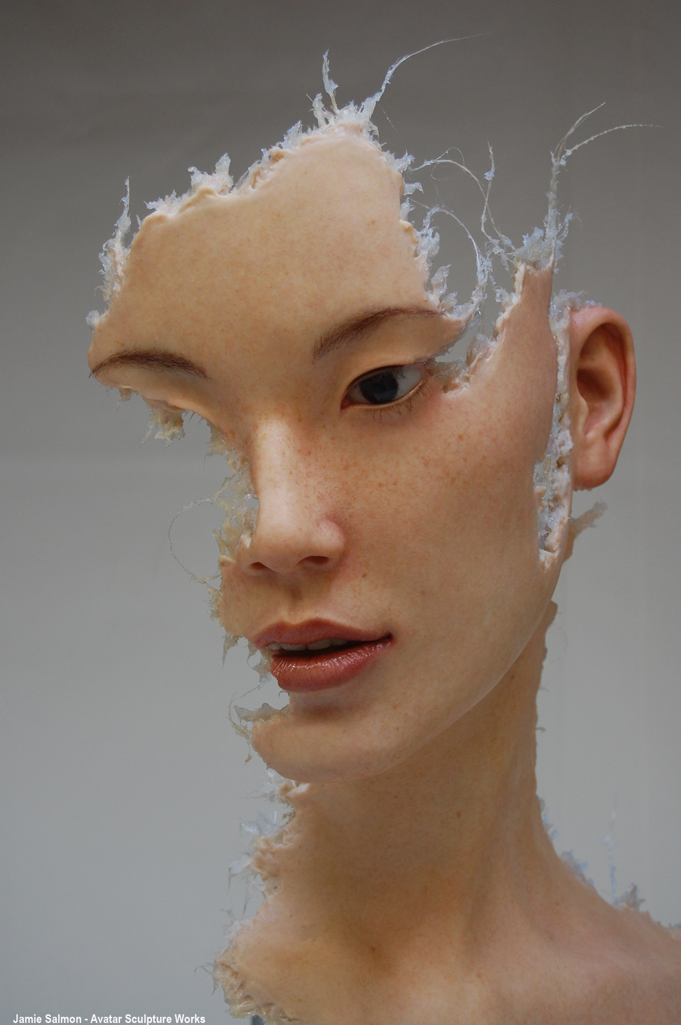 Fragment #3 -Silicone and mixed media by Jamie Salmon.jpg