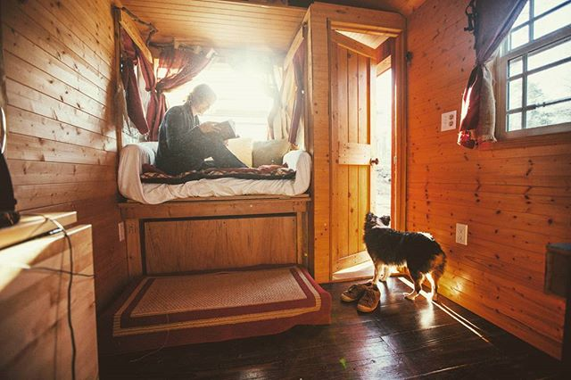 The tiny house life is a pretty beautiful life... . @livealittlechatt