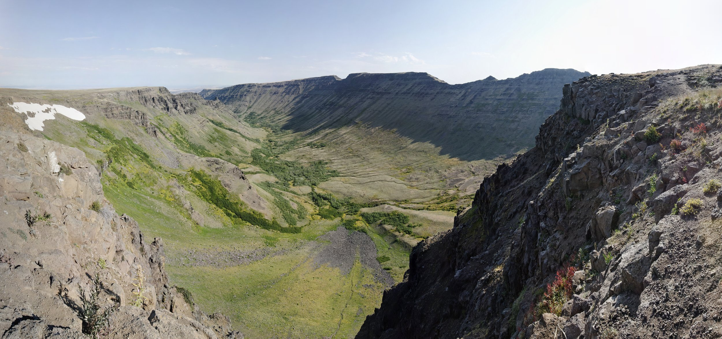 """steens mountain panorama 1   up to 32"""" x 68""""  2011"""