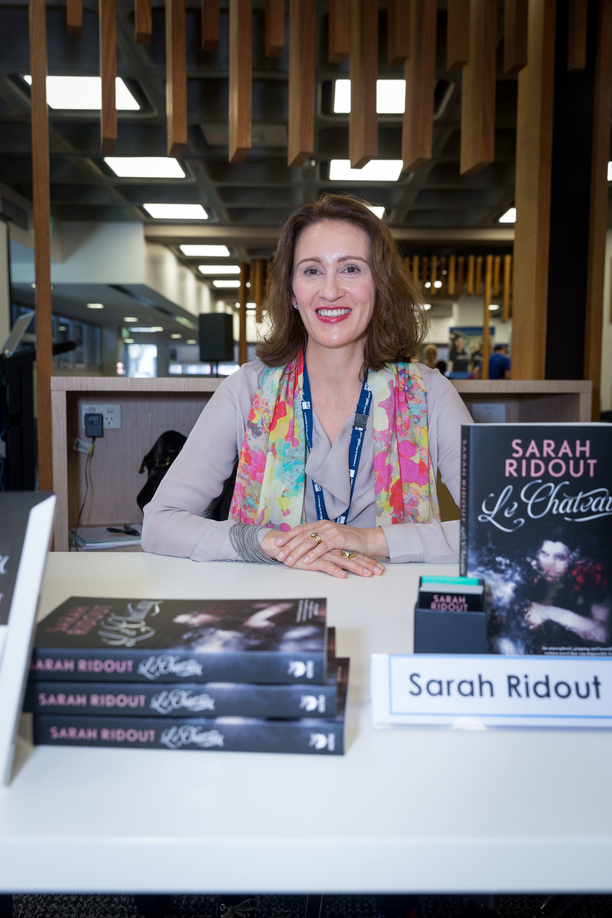 Author with book 'in the wild' for the first time.