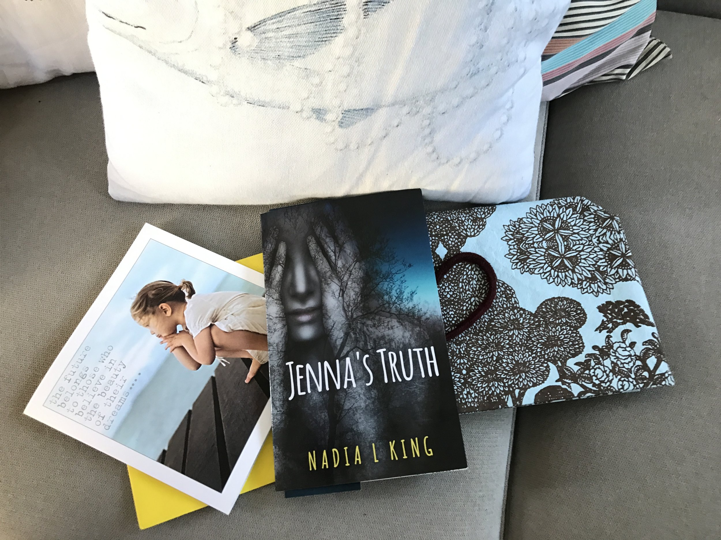 Jenna's Truth by Nadia L King, a powerful addition to novels confronting teen bullying head on