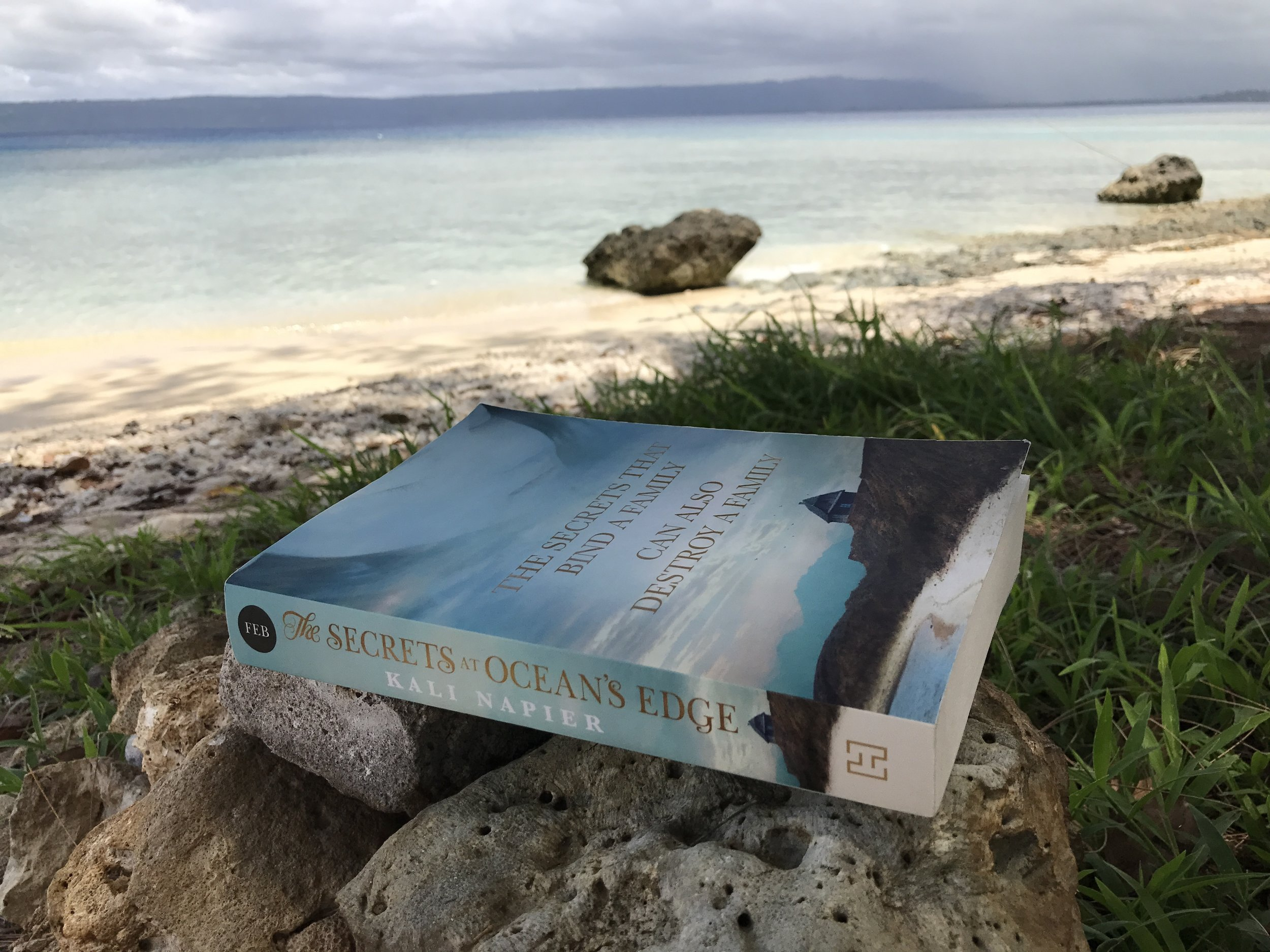 Kali Napier's debut, resting on the Ocean's Edge in Vanuatu (see what I did there?) ;)