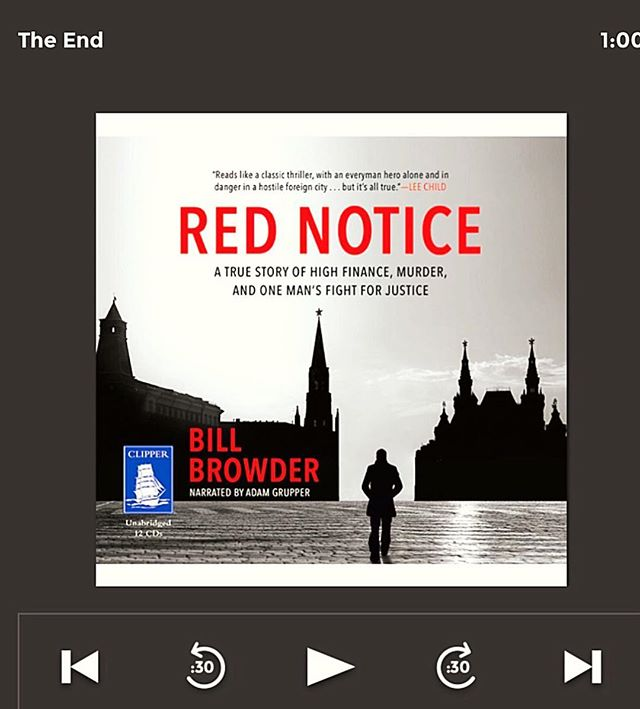 Recommended: #RedNotice by @billbrowder a moving reminder of the power of words & determined activism. The #magnitskyAct improves the world 🙏🏼#justice ✨#amreading #tbr #ipreview @preview.app