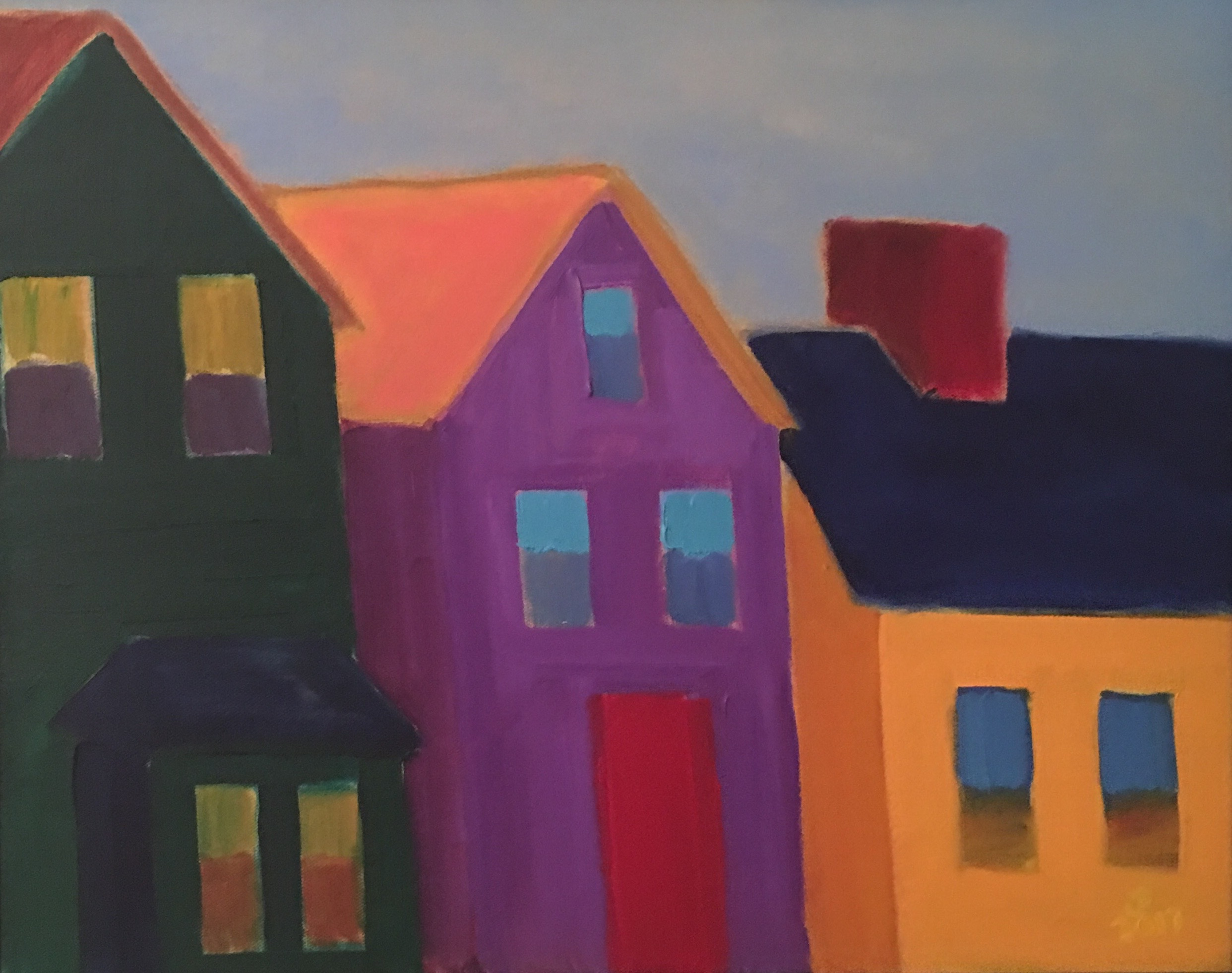 South End - Oil on Canvas18 x 24Whereabouts unknown