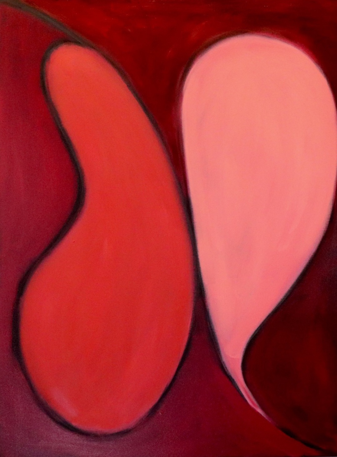 Touch - Oil30 x 40Now residing on Long Island