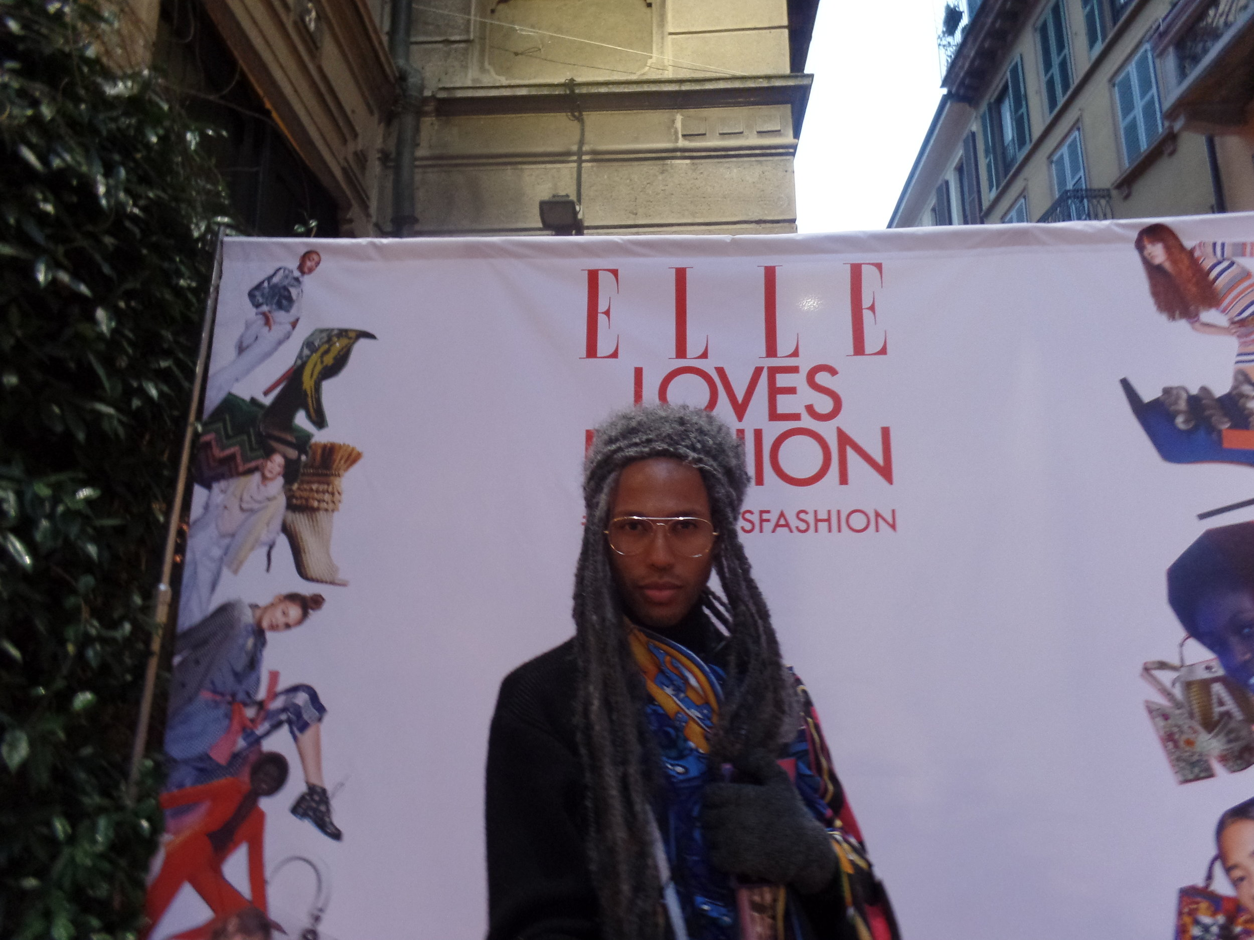 CRASHED ELLE MAGAZINE'S FASHION WEEK AFTER PARTY.     IT WAS LIT.