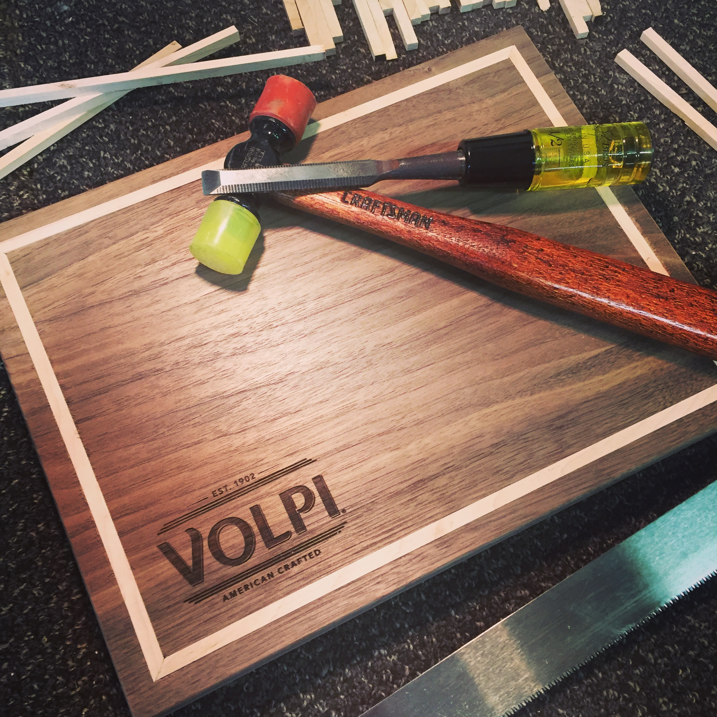 Custom Cutting Boards for Volpi Foods