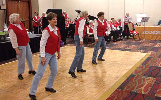 Blue River Singers and tap dancers!
