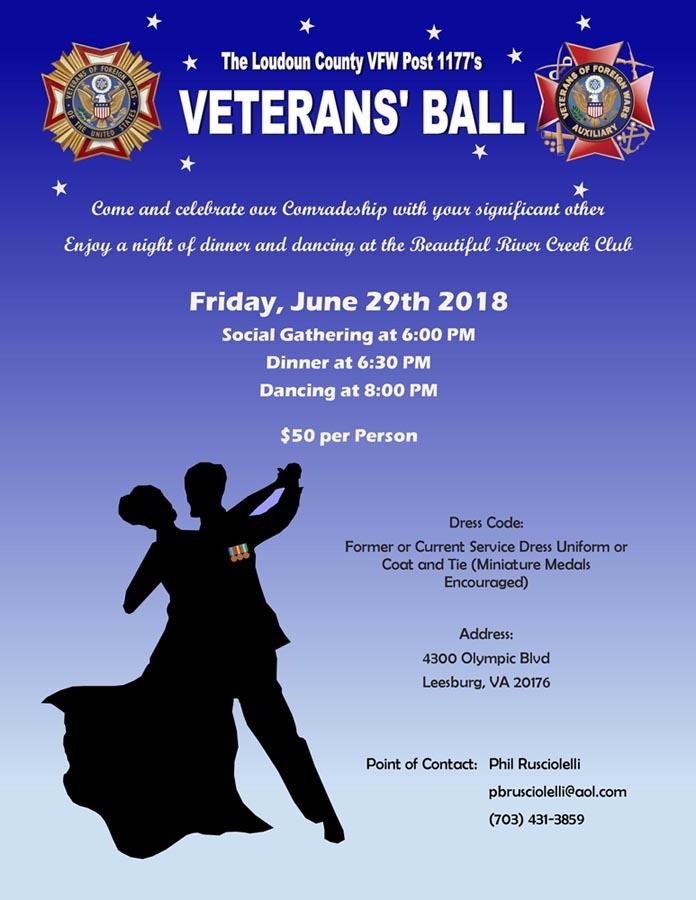 Loudon County VFW Post 1177's Veteran's Ball
