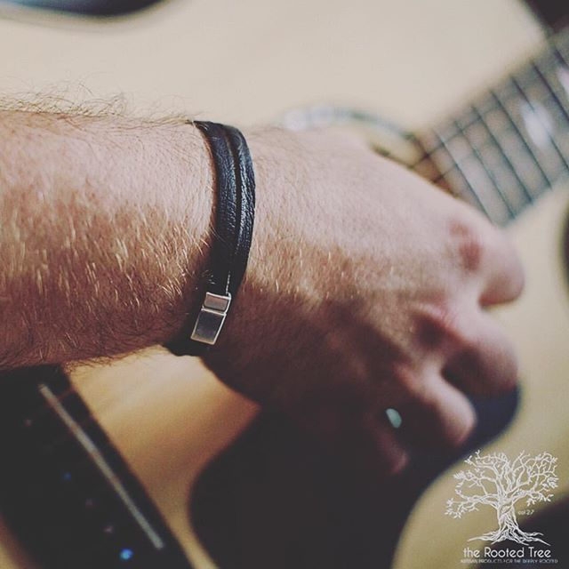 Be the conductor of your own orchestra. . Check out our double wrap deer tan leather bracelets on the shop today! . http://www.therootedtree.net . #Bedeeplyrooted #truth #intentionalliving #smallbusiness #groomsmengift #groomsgift #weddinggift #menswatch #guygift #woodwatch #woodglasses #leatherjournal #adventure #leathercuff #leatherbracelet #wanderlust #woodburnedart #socialgood #watchesofinstagram #uniquewatch #coolgift #hipster #minimalist #leathergoods #handcrafted #therootedtree #hipsterfashion #industrialpipe #beardman #beardsofinstagram